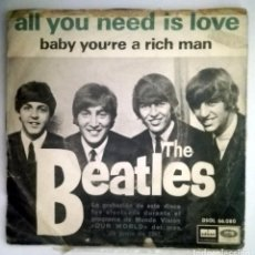 Discos de vinilo: THE BEATLES ALL YOU NEED IS LOVE. Lote 70470965