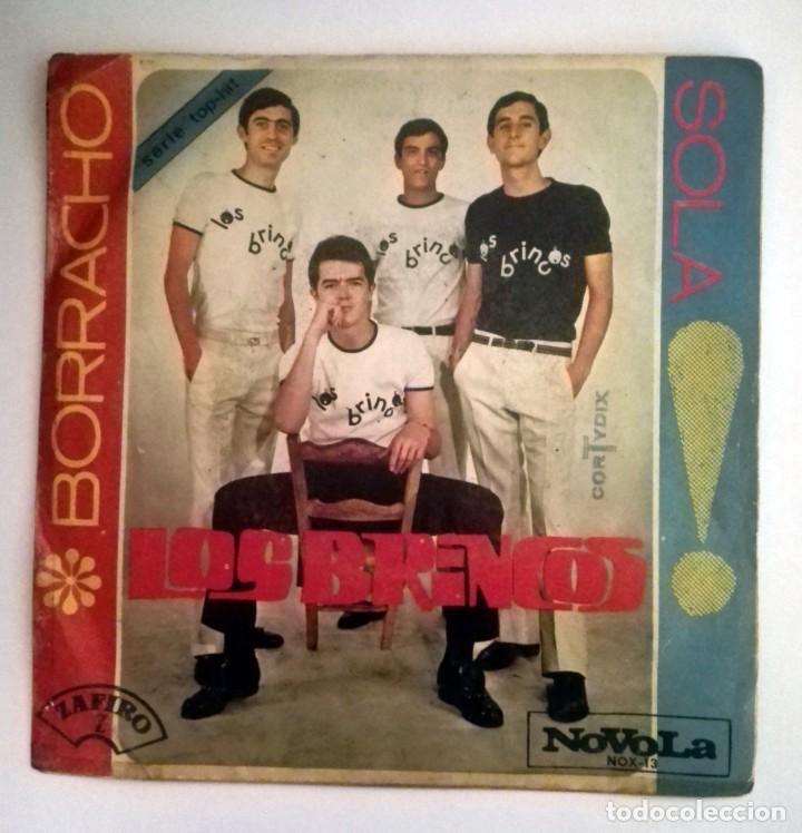 LOS BRINCOS -BORRACHO- SOLA (Música - Discos - Singles Vinilo - Solistas Españoles de los 50 y 60)