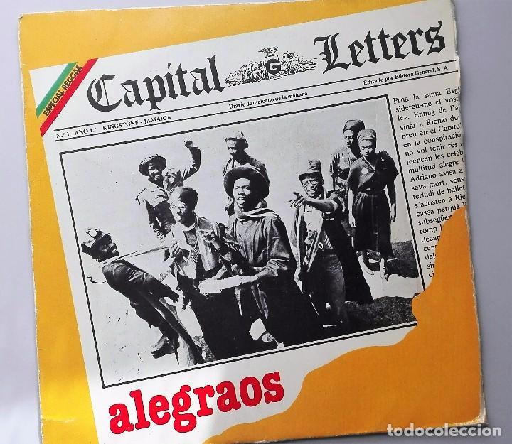 CAPITAL LETTERS ALEGRAOS (Música - Discos - Singles Vinilo - Disco y Dance)