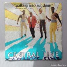 Discos de vinilo: CENTRAL LINE WALKING INTO SUNSHINE. Lote 70478165