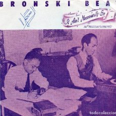 Discos de vinilo: BRONSKI BEAT SINGLE 1984. Lote 70483277