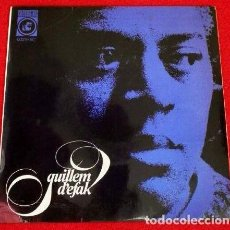 Discos de vinilo: GUILLEM D'EFAK (EP. CONCENTRIC 1965) PLORANT / SETEMBRE TEMPS PLUJOS - FEBRE - COM AHIR -EN CATALÀ. Lote 66067554