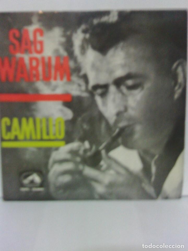 CAMILLO - SAG WARUM - LA VOZ DE SU AMO 1962 (Música - Discos - Singles Vinilo - Pop - Rock Internacional de los 50 y 60)
