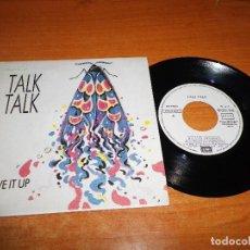 Discos de vinilo: TALK TALK GIVE IT UP / PICTURES OF BERNARDETTE SINGLE VINILO PROMO ESPAÑOL 1986 2 TEMAS. Lote 70490045