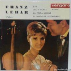 Discos de vinilo: FRANZ LEHAR - VALSES - 1962 VERGARA 35.2.013 C. Lote 70490793