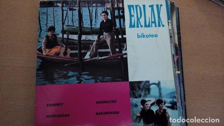 ERLAK BIKOTEA KENNEDY EP 1969 (Música - Discos de Vinilo - EPs - Country y Folk)