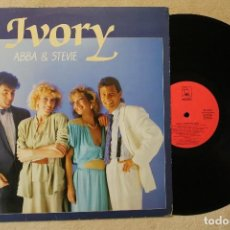 Discos de vinilo: IVORY ABBA & STEVIE LP VINYL MADE IN SPAIN 2001. Lote 70499133