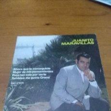 Discos de vinilo: JUANITO MARAVILLAS. AHORA QUE LA CONSEGUISTE. MB3. Lote 70509073