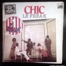 Discos de vinilo: CHIC -LE FREAK -. Lote 70514465