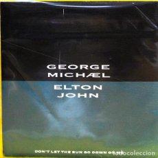 Discos de vinilo: GEORGE MICHAEL AND ELTON JOHN - DON'T LET THE SUN GO DOWN ON ME. Lote 70515113