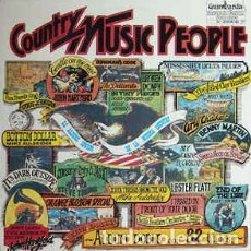 Discos de vinilo: VARIOUS ‎– COUNTRY MUSIC PEOPLE . Lote 70521657
