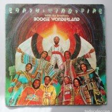 Discos de vinilo: EARTH WIND AND FIRE -BOOGIE WONDERLAND-. Lote 70523313