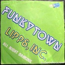 Discos de vinilo: LIPPS INC - FUNKY TOWN -. Lote 70526233