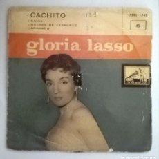 Discos de vinilo: GLORIA LASO - CACHITO -. Lote 70527937