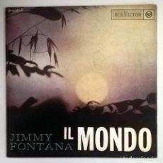 Discos de vinilo: JIMMY FONTANA - IL MONDO -. Lote 70530401