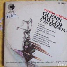 Discos de vinilo: LP - GLENN MILLER Y SU ORQUESTA - GRANDES EXITOS (DOBLE DISCO, SPAIN, DISCOS CLAVE 1968). Lote 70530861