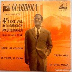 Discos de vinilo: JOSE GUARDIOLA - NUBE DE COLORES. Lote 70532945