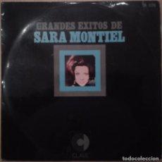 Discos de vinilo: GRANDES EXITOS DE SARA MONTIEL. Lote 70534653