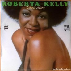 Discos de vinilo: ROBERTA KELLY : TROUBLE MAKER [ESP 1977] LP. Lote 70546421