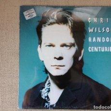 Discos de vinilo: CHRIS WILSON -RANDOM CENTURIES- (1991) LP DISCO VINILO. Lote 70552709