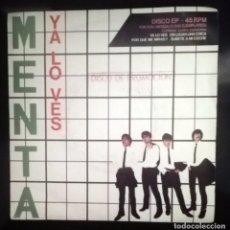 Discos de vinilo: MENTA -YA LO VES -. Lote 70562053