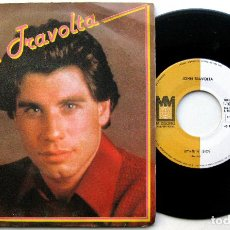 Discos de vinilo: JOHN TRAVOLTA - LET HER IN (DEJALA ENTRAR) - SINGLE MIDSONG INTERNATIONAL 1979 BPY. Lote 70566069