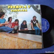 Discos de vinilo: FORMULA V CAROLINA LP SPAIN 1975 PDELUXE. Lote 70568181