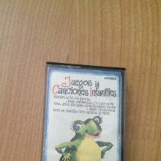 Discos de vinilo: JUEGOS Y CANCIONES INFANTILES. Lote 70576121