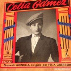 Discos de vinilo: EP CELIA GÁMEZ TABACO Y CERILLAS.MONTILLA. Lote 70583698