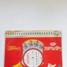 Discos de vinilo: DISCO,VINILO 78RPM,DISCO ANIMADO BAMBINO PHILIPS.. Lote 70611049