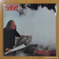 Discos de vinilo: SAGA - WORLDS APART - LP. Lote 70695662