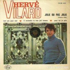 Discos de vinilo: HERVE VILARD. MAXI SINGLE . SELLO MERCURY RECORDS. EDITADO EN ESPAÑA. AÑO 1966. Lote 70752009