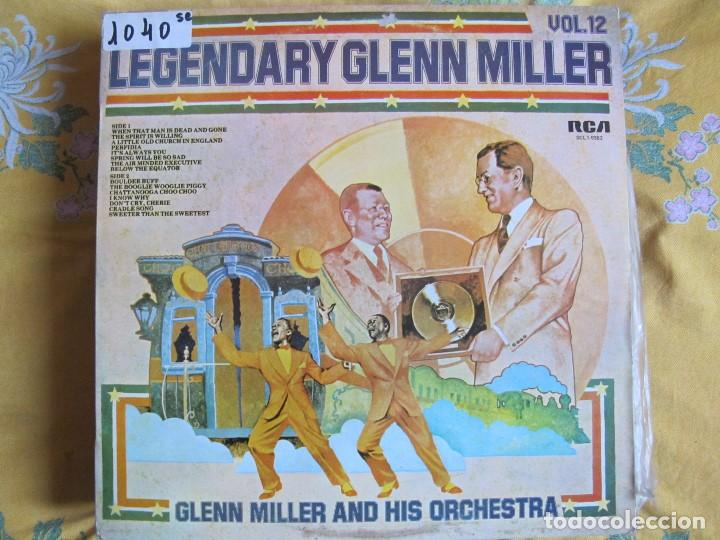 LP - GLENN MILLER AND HIS ORCHESTRA - LEGENDARY GLENN MILLER VOL. 12 (SPAIN, RCA 1977) (Música - Discos - LP Vinilo - Jazz, Jazz-Rock, Blues y R&B)