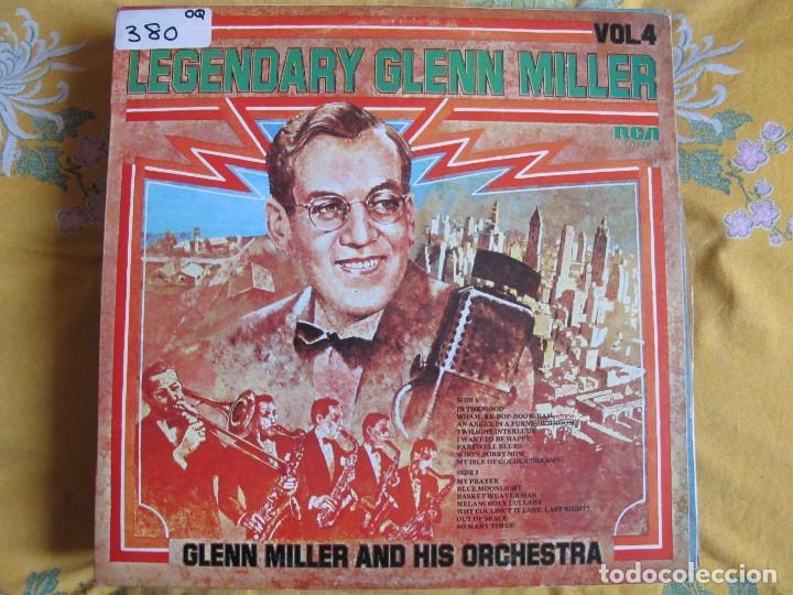 LP - GLENN MILLER AND HIS ORCHESTRA - LEGENDARY GLENN MILLER VOL. 12 (SPAIN, RCA 1976) (Música - Discos - LP Vinilo - Jazz, Jazz-Rock, Blues y R&B)