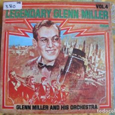 Discos de vinilo: LP - GLENN MILLER AND HIS ORCHESTRA - LEGENDARY GLENN MILLER VOL. 12 (SPAIN, RCA 1976). Lote 70761541