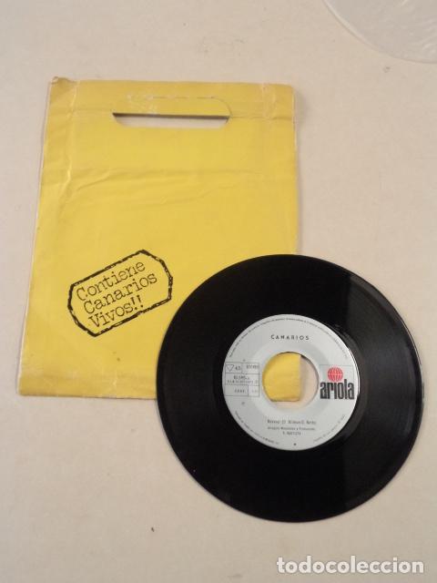 Discos de vinilo: SINGLE CANARIOS - REVIVAL / CHAOS - Foto 2 - 70905985