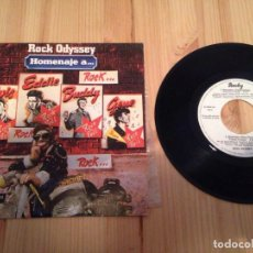 Discos de vinilo: ROCK ODYSSEY - HOMENAJE A... (7-EP PROMO). Lote 70928129