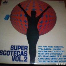 Discos de vinilo: LP SUPER DISCOTECAS VOL. 2. VARIOS ARTISTAS. EDICION DIAL DE 1977.. Lote 71029889