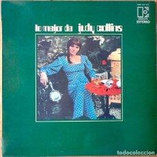Discos de vinilo: JUDY COLLINS : LO MEJOR DE JUDY COLLINS [ESP 1970] LP/COMP. Lote 71035057
