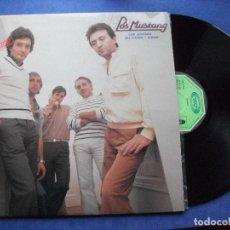 Discos de vinilo: LOS MUSTANG LOS MUSTANG LP SPAIN 1982 PDELUXE. Lote 71035577