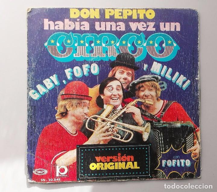 LOS PAYASOS DE LA TELE - HABIA UNA VEZ - (Música - Discos - Singles Vinilo - Música Infantil)