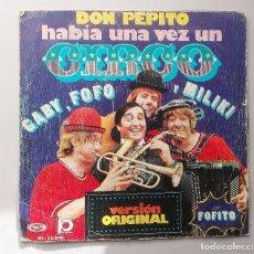 Discos de vinilo: LOS PAYASOS DE LA TELE - HABIA UNA VEZ -. Lote 71038101