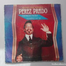 Discos de vinilo: PEREZ PRADO - EL REY DEL MANGO -. Lote 71038669
