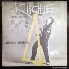 Discos de vinilo: RITCHIE - MENINA VENENO -. Lote 71040129