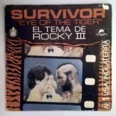 Discos de vinilo: SURVIVOR - EYE OF THE TIGER -. Lote 71041141