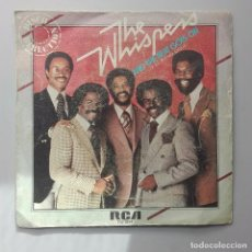 Discos de vinilo: THE WHISPERS - AND THE BEAT GOES ON -. Lote 71041393
