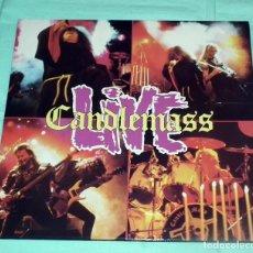Discos de vinilo: DOBLE LP CANDLEMASS - LIVE. Lote 71042801