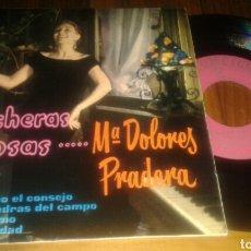 Discos de vinilo: MARIA DOLORES PRADERA, RANCHERAS FAMOSAS:TE AGRADEZCO EL CONSEJO+3 (EP.7