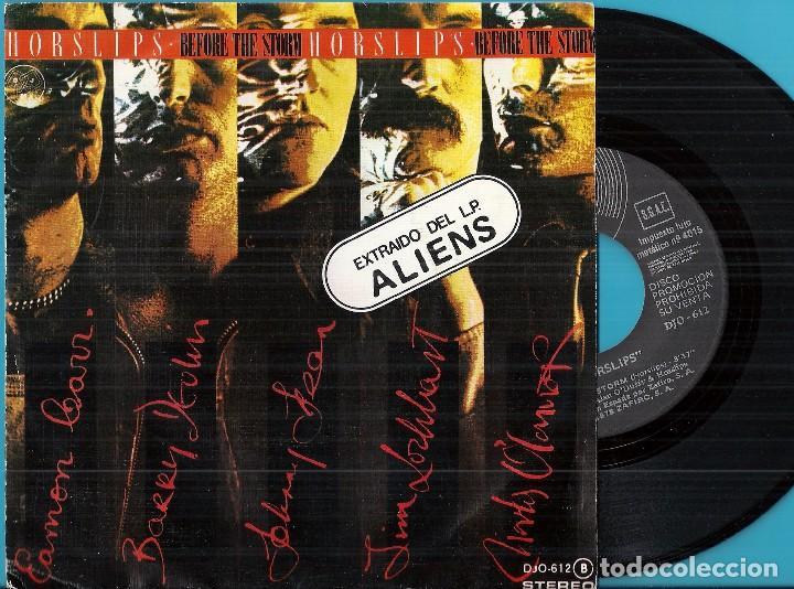 HORSLIPS: BEFORE THE STORM / NEW YORK WAKES (Música - Discos - Singles Vinilo - Pop - Rock - Extranjero de los 70)