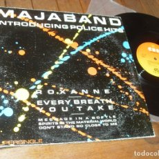 Discos de vinilo: MAJABAND. MAXI SINGLE INTRODUCING POLICE HITS - MADE IN SPAIN 1983. Lote 71065101